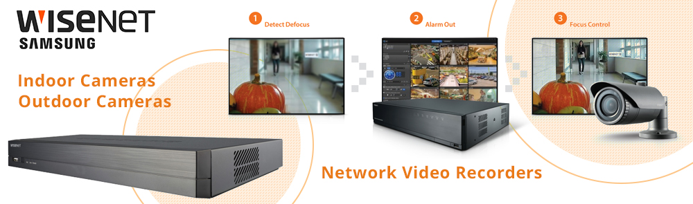 Wisenet Network Video Recorders